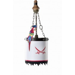 Black Pirate hanglamp piraten jongens kamer