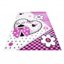 Bloem prinses tapijt vloerkleed meisjes