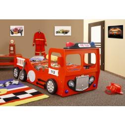 Autobed brandweerbed  jongensbed