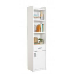 California boekenkast wit kast tienerkamer