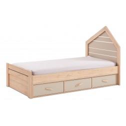 Cento bed bedhuisje kinderkamer 200 x 90 cm