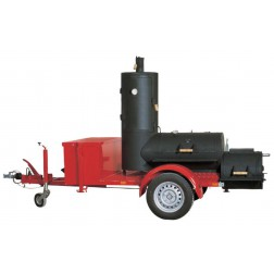 "Joe's Barbecue Smoker 20"" Chuckwagon op Trailer"