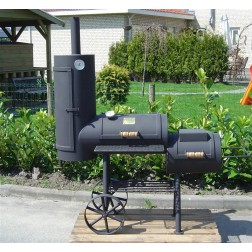 "Joe's Barbecue Smoker 13"" Chuckwagon"