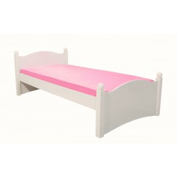 Cindy meisjesbed kinderbed | wit