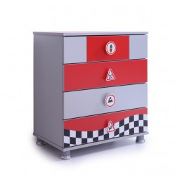 Turbo Special commode kinderladekast | Rood