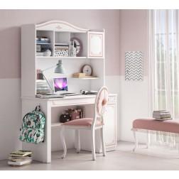 Emily Pink bureau kinderbureau groot compleet meisjeskamer