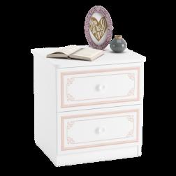 Emily Pink nachtkastje meisjeskamer kinderkamer