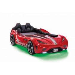 Autobed GTS Racer | rood kinderbed jongens bed