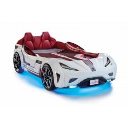 Autobed GTS Racer | wit kinderbed jongensbed