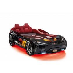 Autobed GTS Racer | zwart kinderbed jongensbed