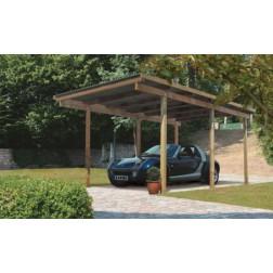 Karibu Carport enkel 1 | 304 x 490 cm