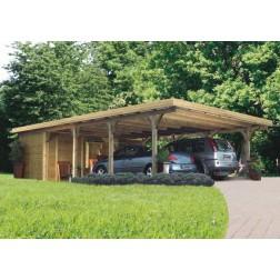 Karibu Premium carport dubbel 3 | 540 x 860 cm