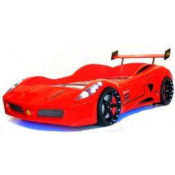 Autobed Racebed V7 Turbo kinderbed jongensbed rood