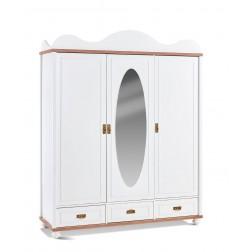 Capri 3 deurs kledingkast kinderkamer