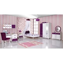 Prinsessenkamer paars | 3 delige aanbiedingsset