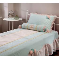Paradise bedsprei + kussenset (90 - 100 cm)