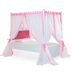 Pretty hemelbed voor de kinderkamer meisjeskamer