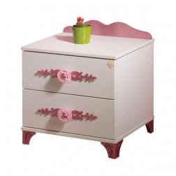 Pretty nachtkastje voor de kinderkamer meisjeskamer