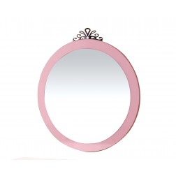 Prinses spiegel meisjes kamer roze