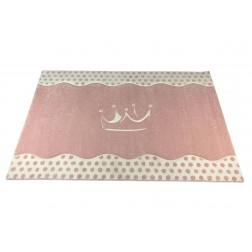 Prinses Roze tapijt vloerkleed prinsessenkamer