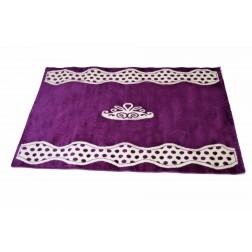 Prinsessen tapijt prinses meisjeskamer paars