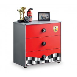 Race Cup commode kinderladekast auto