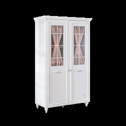 Romance 2 deurs kledingkast met ramen meisjeskamer