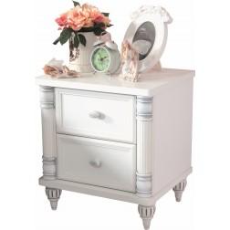 Romantic kindernachtkastje meisjes kamer