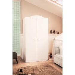 Sachsa baby kledingkast 2 deurs babykamer