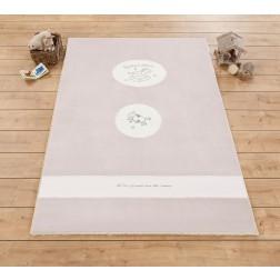 Sachsa babykamer tapijt vloerkleed (120 x 180 cm)