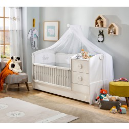 Sachsa babybed ledikant meegroeibed babykamer