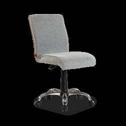 Soft stoel bureaustoel grijs kinderkamer