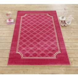 Sweety rood / roze tapijt vloerkleed meisjeskamer