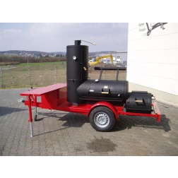 "Joe's Barbecue Smoker 24"" Chuckwagon op Trailer"