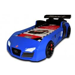 Autobed / Racebed V8 Sport | blauw kinderbed jongensbed