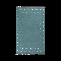 Turquoise tapijt vloerkleed kinderkamer tienerkamer