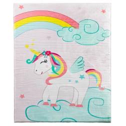 Unicorn vloerkleed tapijt meisjes babykamer