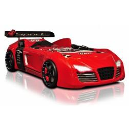 Autobed / Racebed V8 Turbo | rood kinderbed jongensbed