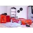 auto slaapkamer carbed autobed rood street racer