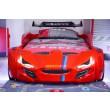 autobed rood auto slaapkamer street racer