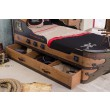 BLACK PIRATE schip bed complete kinderkamer