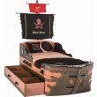 BLACK PIRATE schip bed