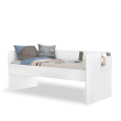 California Studio bovenste bed wit 200x90