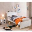 California inspiratie witte slaapkamer, kinderkamer wit, meidenkamer wit, by mm store