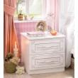 Emily nachtkastje wit meisjeskamer