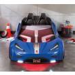 Gts racer blauw kinderbed autobed autokamer jongenskamer