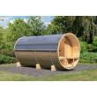 Karibu buitensauna Barrel sauna 4