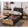 New York tienerbed kinderbed boxspring opbergbed bed tienerkamer