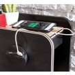 New York tienerbed usb lader hoofdbord bed tienerkamer