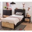 New York tienerbed boxspring opbergbed bed tienerkamer